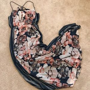 A&F Floral Maxi Dress